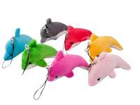 Дельфин цветной 10 см
